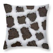 Stone Road Throw Pillow