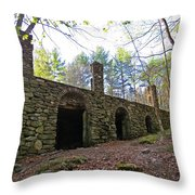 Stone Ruins Throw Pillow