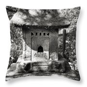 Stone Shrine Throw Pillow
