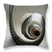 Stone Staircase Throw Pillow