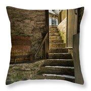 Stone Stairs Throw Pillow