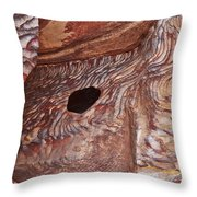 Stone Structures Throw Pillow
