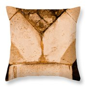 Stone Support Throw Pillow