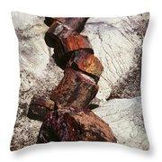 Stone Trees - 337 Throw Pillow