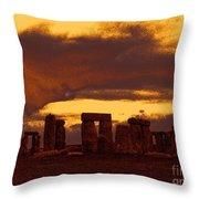 Stonehenge 6 Throw Pillow