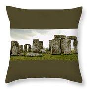 Stonehenge Panorama Throw Pillow