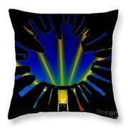 Stonehenge Solstice Throw Pillow