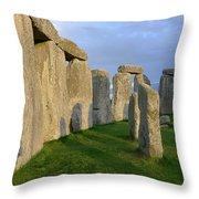 Stonehenge Stones Throw Pillow
