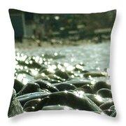 Stones 5 Throw Pillow