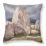 Stones Of Castlerigg Throw Pillow