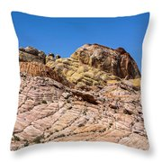 Stones Of Color Throw Pillow