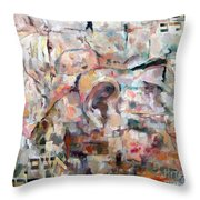 Stones With A Heart   Ears Of The Wall Throw Pillow