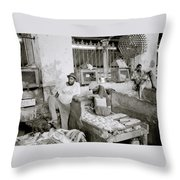 Stonetown Market Throw Pillow