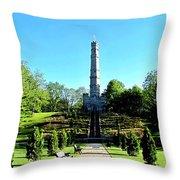 Stoney Creek Battlefield Monument Throw Pillow