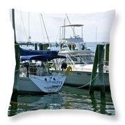 Stonington Harbor Throw Pillow