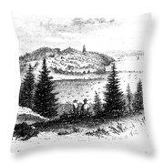 Stony Point, New York Throw Pillow