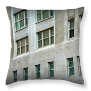 Stop And See Throw Pillow