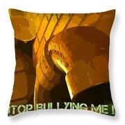 Stop Bullying Throw Pillow