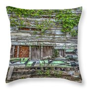 Stop The Decay Throw Pillow