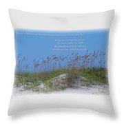 Stopping On Occasions Throw Pillow