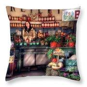 Store - Dreyer's Farm Throw Pillow