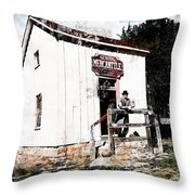 Store - General Mercantile Throw Pillow