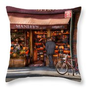Store - Wine - Ny - Chelsea - Wines And Spirits Est 1934  Throw Pillow