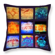 Stories On Stone Throw Pillow