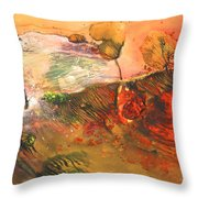 Storm At Sunup Throw Pillow