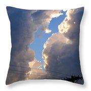 Storm Clouds 4 Throw Pillow