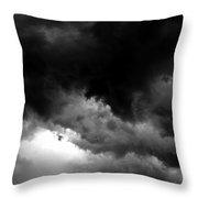 Storm Clouds Throw Pillow