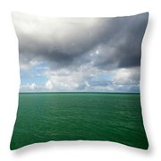 Storm Clouds Gathering Throw Pillow