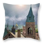 Storm Clouds In Charleston Wv Throw Pillow