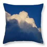 Storm Clouds In The Evening Throw Pillow