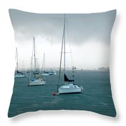 Storm Coming  Throw Pillow