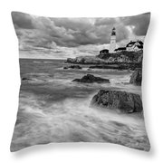 Storm Coming Throw Pillow by Jon Glaser