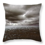 Storm Front Throw Pillow by Mark Rogan