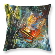 Storm In The Night Throw Pillow