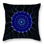 Storm. Throw Pillow