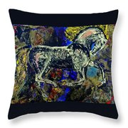 Storm Of Love Throw Pillow