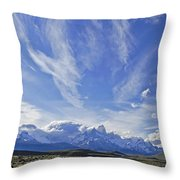 Storm Over Fitz Roy 4 Throw Pillow