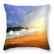 Storm Power Throw Pillow