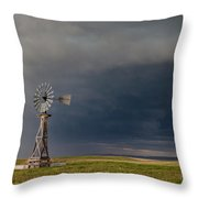 Storm Ready Throw Pillow