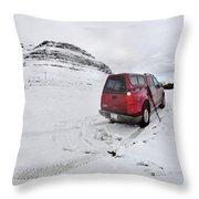 Storm Rider Throw Pillow