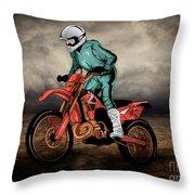 Storm Rider V1 Throw Pillow