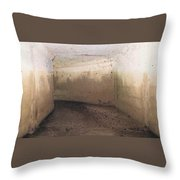 Storm Tunnel Throw Pillow