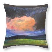 Stormchaser Throw Pillow by PainterArtist FIN