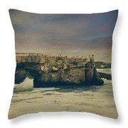 Storms Always Pass Throw Pillow by Laurie Search