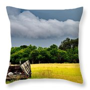 Storm's Arrival Throw Pillow