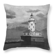 Storms Come And Go. Throw Pillow